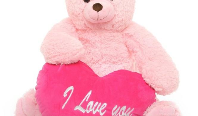 For Cute Pink Teddy Bear Wallpapers Desktop Two