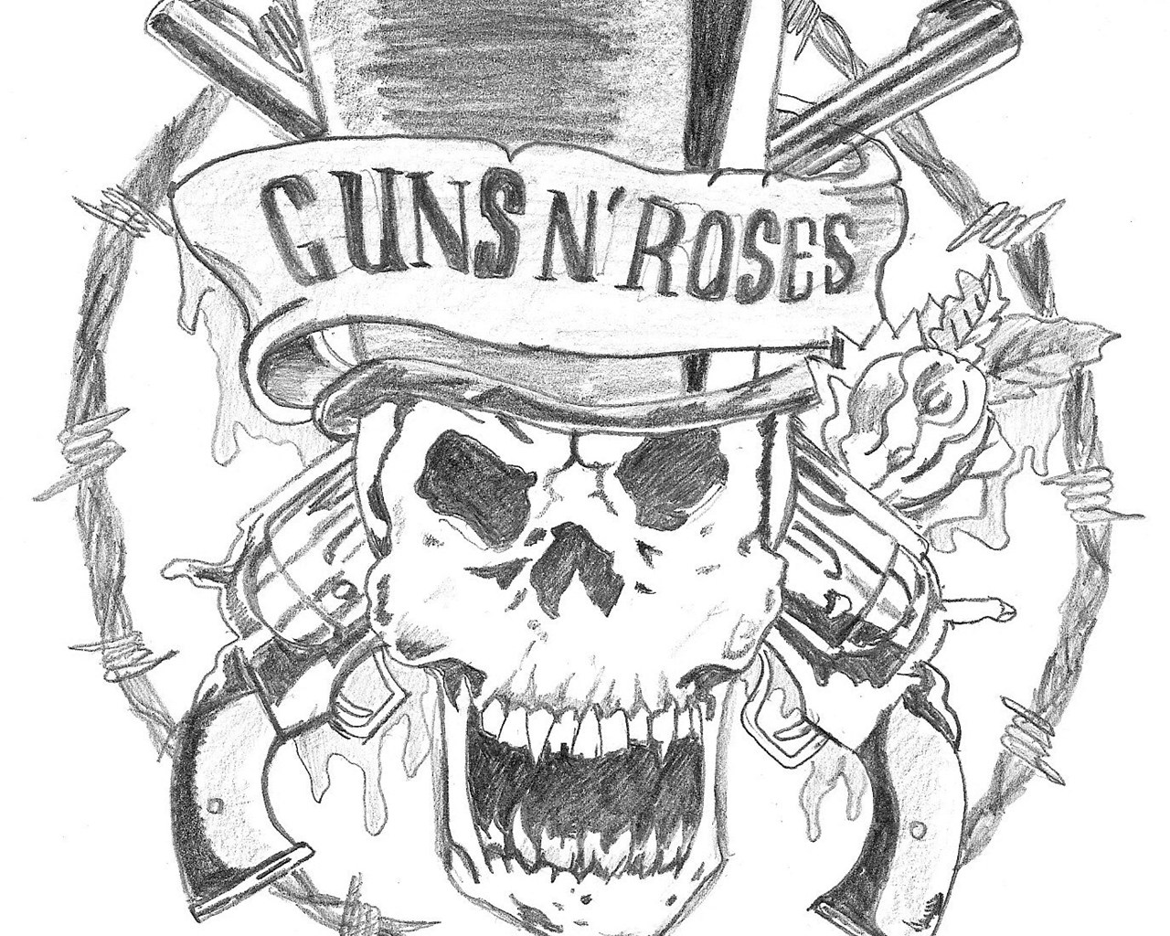 Guns N Roses Wallpaper Logo 171 Desktop Wallpapers