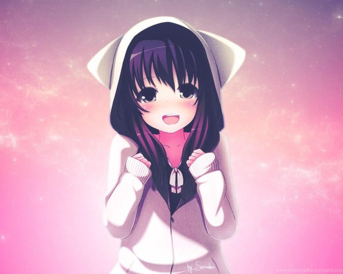 Cute Anime Girls Backgrounds New HD Wallpapers Desktop Background