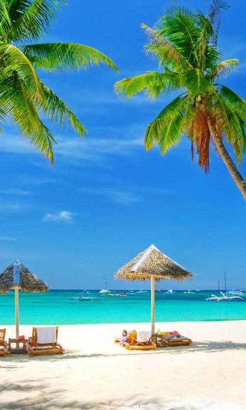 Tropical beach background hd wallpaper.jpeg Desktop Background