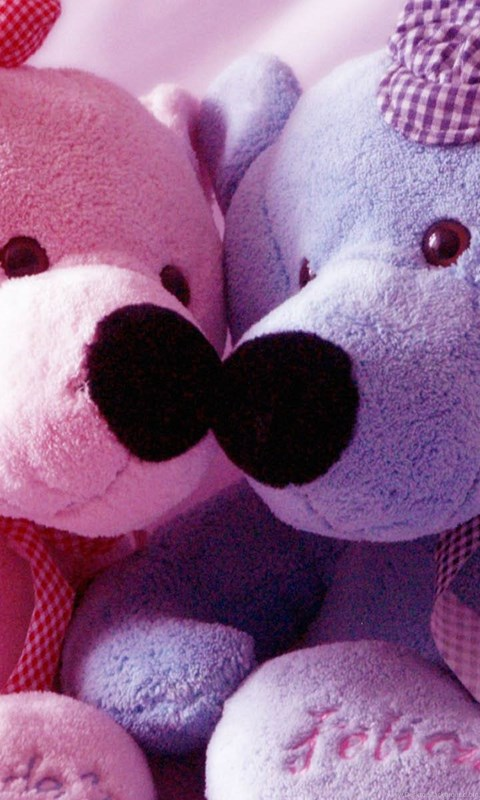 Android Teddy Bear Cute Love Couple Hd Wallpapers 1080p Jpg Desktop Background