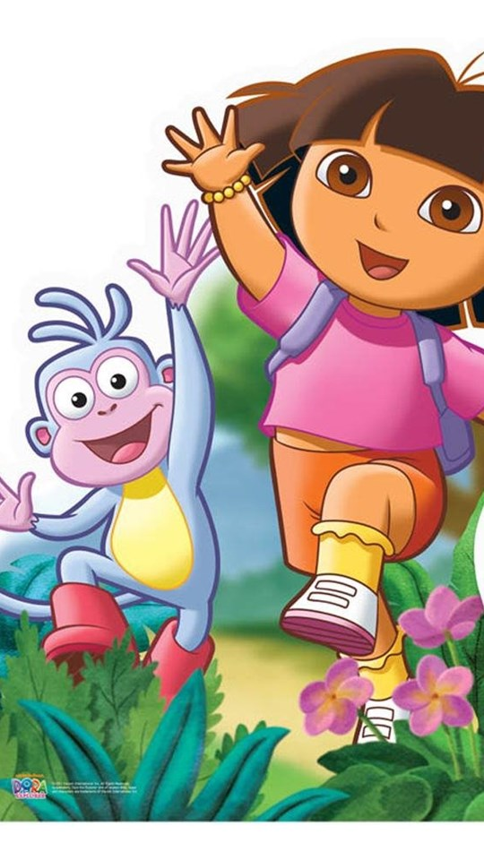 Dora wallpaper for mobile wallsjpg dora cartoon pictures hd wallpapers pretty desktop background voltagebd Image collections