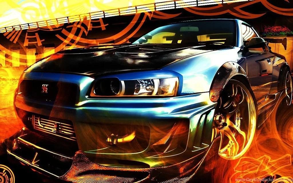 Cool Car Wallpapers Digital Art Colors Tribal Gt Blue Sport Fast Desktop Background