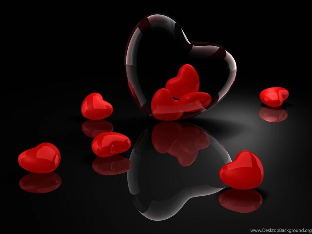 heart, glass, 3d, reflection >> hd wallpaper, get it now! desktop