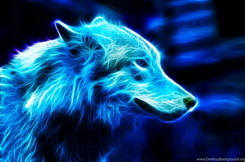 Collection Of Animated Wolf Wallpapers On HDWallpapers 1440x900 Source Neon Pictures Wolves Imaganationface Org