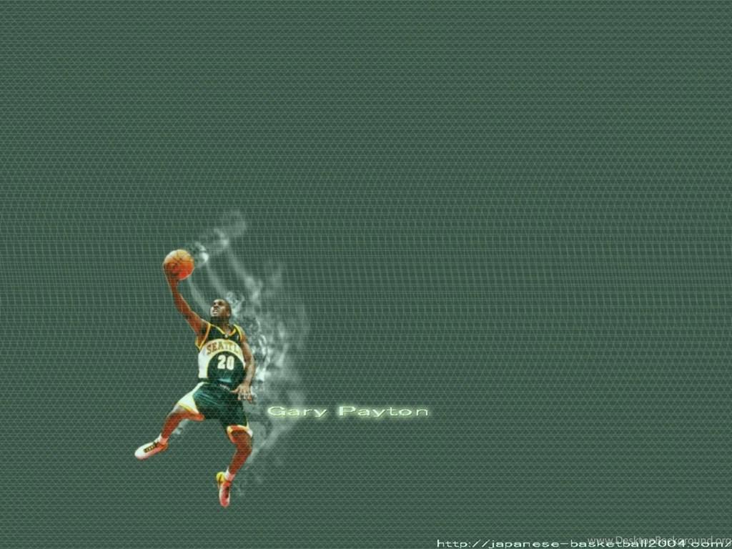 gary payton supersonics wallpapers desktop background