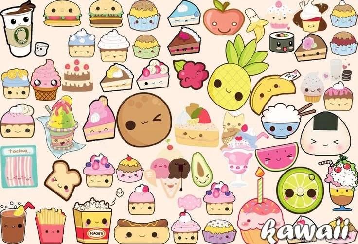 Unicorn Wallpaper Cute Kawaii Faces