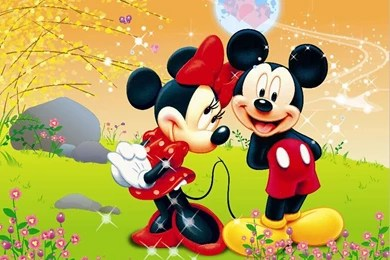 Mickey And Minnie Mouse Backgrounds Wallpapers