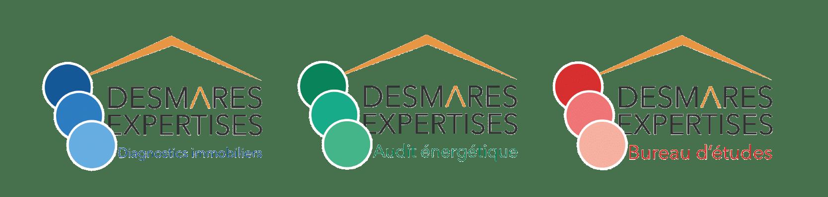 ACTIVITE DESMARES EXPERTISES LOGO