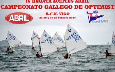 Campeonato Gallego de Optimist 2017 IV Regata Aceites Abril