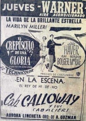 In Warner Theatre Dec.1949peq-Havana