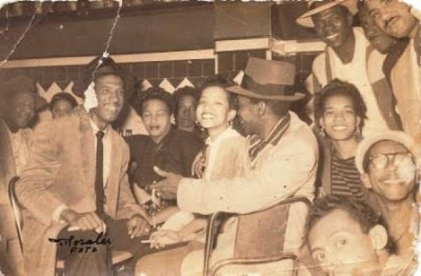 Papito, Mayi y jovenes jazz en EL GATO BAR-BR