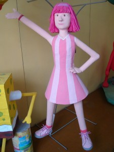 Stephani de Lazy Town/Foto:Gabriela Barrios