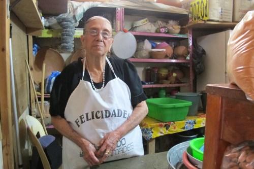Doña Candelaria Hernández/Foto: Gabriela Barrios