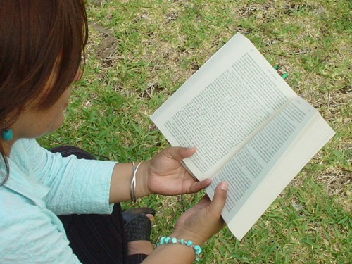 Amor a la literatura / Foto: Gaby Barrios