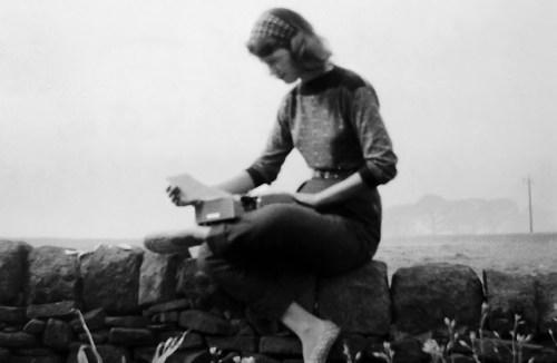 Silvia Plath en Yorkshire / Fuente: http://librosyte.blogspot.mx/