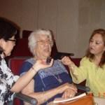Dolores Castro en entrevista / Foto: Desmesuradas