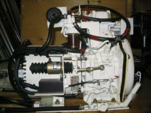 Yanmar diesel generator 2428 volt dc, 22 kw,