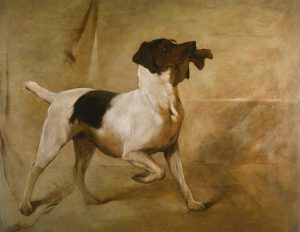 esmond Mac Mahon - Fine artist - London - Equestrian art - Dog