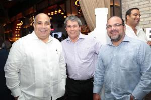 Julio Brache, Pedro Pablo Ramos y Claudio Hirujo.