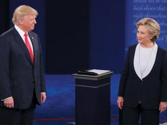 Los candidatos a la presidencia de Estados Unidos, Donald Trump y Hillary Clinton.