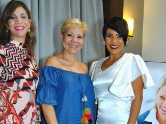 Marbel Lugo, Gina Grullon y Raquel Cabrera