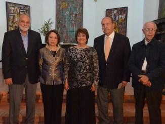 Esteban Prieto, Ylonka Nacidit Perdomo, Verónica Sención, Fabio Herrera y Eugenio Pérez Montas.