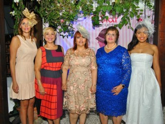 Rocío Regalado, Gina Grullón , Rommy Grullón, Marisela Aybar y Rommy Pichardo