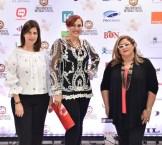 Leonor Asilis, Marisol Henríquez y Teresita Vargas.
