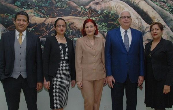 Rubén Martínez Portes, Rosanna Filpo, Zurina Lench, Silvestre Aybar Sánchez y Digna Paulino
