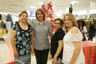 Leonarda Reyes, Zoila Rita, Felicia Guzmán y Rashel Ramos