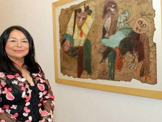 Rosa Tavarez, premio nacional de artes plásticas