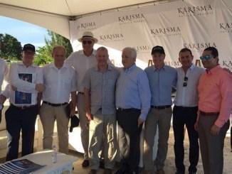 Ejecutivos de Tui Group, Karisma Hotels and Resorts y Cap Cana en visita al destino turístico.