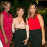 Mercedes Foster, Wendy Ramirez y Karina Constanzo