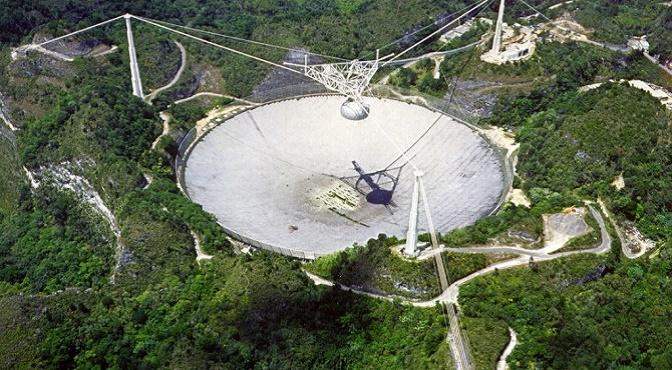 Radiotelescopio de Arecibo, el 2º más grande de su tipo