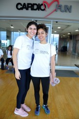 Abril Padilla y Camila Santana