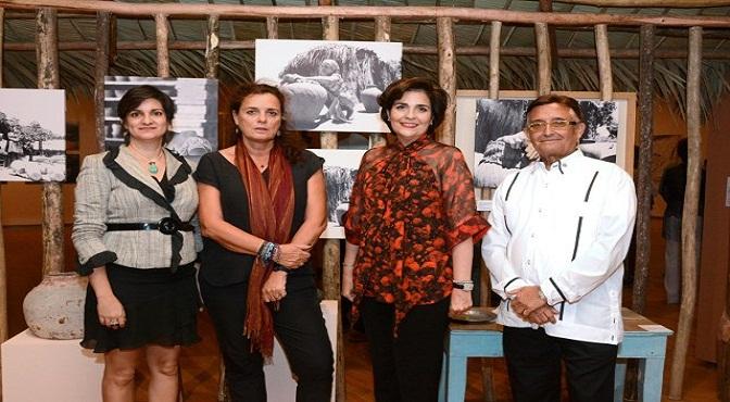 Arlene Álvarez, Corinne Hofman, María Amalia León de Jorge y Christian Martínez.