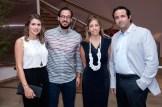 Mónika Kelner, Augusto Reyes, Mary de Zaiek y Marco Zaiek