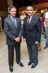 Fernando Arturo León y Víctor García Sued