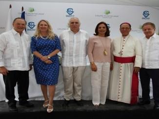 Frank Rainieri, Eva Zato, Dr Zato, Haydee Rainieri, Monseñor Nicanor, Dr Cedano
