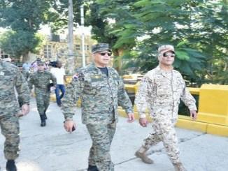 El teniente general Rubén Darío Paulino Sem dijo que la frontera se encuentra reforzada