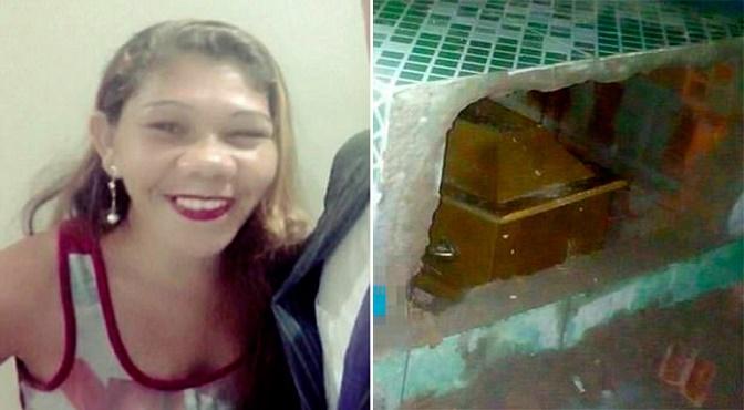 """Mujer que fue """"enterrada viva"""" quiso salir del ataúd después de 11 días"""