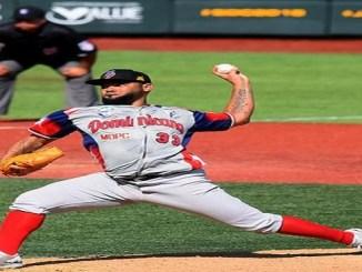 Francisley Bueno lanzó el mejor partido de su carrera vistiendo la franela de República Dominicana.