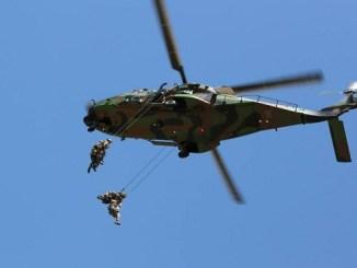 Helicóptero del Ejército francés.