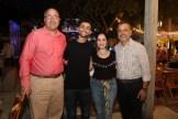Alberto Abreu, Luis Alberto Abreu, Patricia Proaño y Paul Beswick