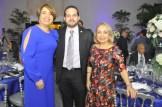 Larissa Hernández, Eudes Espinal y Alma Fernández.