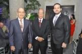 Rapisardi Mallol, Francis Mallol y Eudes Espinal.