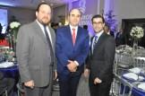 Pablo Beato, Richard Ros y Pablo Urgal.
