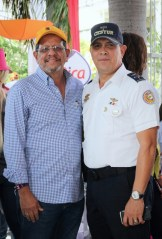 Ernesto Veloz y Oswaldo Pérez Feliz