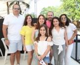 Luis Eduardo Pol, Carmen Rosa Zuleta, Rosa Maria Zuleta, Anibale Bonarelli, Eva Bonarelli, Rosa Bonarelli y Gabriela Peña